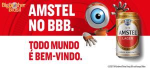 Compre 2 packs de Amstel, ganhe 1 mês de assinatura de Globoplay