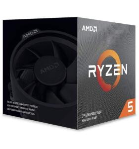 CPU AMD Ryzen 5 3600X, 3.8GHz (4.4GHz Max) AM4 95W 100-100000022BOX | R$1.599