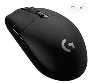 (REEMBALADO) Mouse Gamer G305 sem Fio Hero Lightspeed 12000dpi - Logitech | R$190