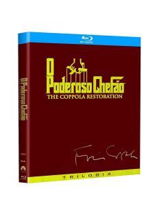 Trilogia Poderoso Chefão - [Blu-ray] Collection | R$70