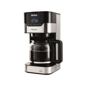 Cafeteira Elétrica Philco Platinum PCFD38 até 38 cafés | R$ 235