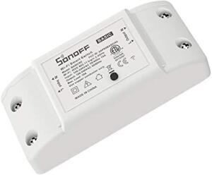 (Primeira Compra) Interruptor Wifi Inteligente Sonoff Basic R2 | R$0,06