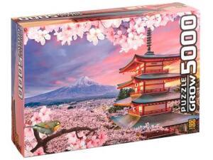 Quebra-cabeça 5000 Peças Monte Fuji - Grow | R$135