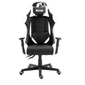 Cadeira gamer krait snake gaming reclinavel b88 - branca | R$764