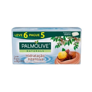 Sabonete Em Barra Palmolive Naturals Leve 6 Pague 5 | R$6