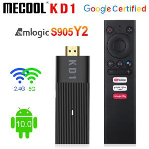 TV Stick Mecool global kd1   R$232