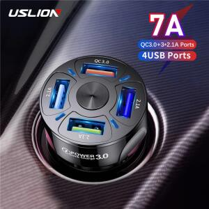 Cabo USB Magnético Uslion - 4 portas | R$48