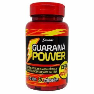 Guarana Power Sanitas 50 Cápsulas R$9