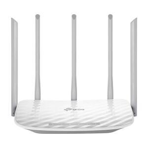 Roteador Wireless Dualband TP-Link Archer C60 5 Antenas Branco R$207
