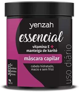 Máscara Essencial, Yenzah, Branco | R$37