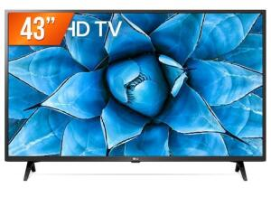 "[C.OURO] Smart TV LED 43"" 4K UHD LG | R$1789"