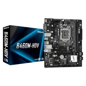 Placa-Mãe ASRock B460M-HDV, Intel LGA 1200, Micro ATX, DDR4 | R$570