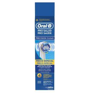 Refil para Escova de Dente Oral-B Elétrica Precision Clean - 4 unidades | R$54