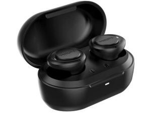 [Cliente Ouro] Fone de Ouvido Philips In Ear Sem Fio TAT1215BK/97 Tws Bluetooth Com Microfone   R$150