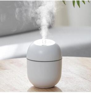 [AME R$20] Mini Umidificador de ar, difusor de óleos, aromaterapia e cromoterapia com led 220ml R$39