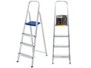 [Cliente Ouro] Escada 4 Degraus Alumínio Mor - 5102   R$100
