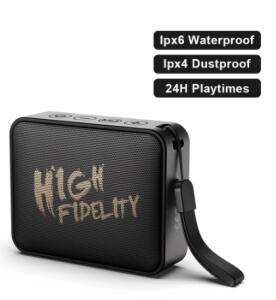 [ Novo usuário] Caixa de som Whizzer M20 10W Bluetooth IPX6 | R$108