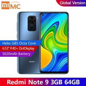 Smartphone Xiaomi Redmi Note 9 Global 3GB 64GB | R$774