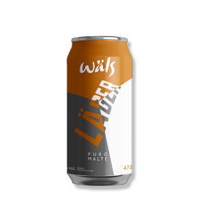 Cerveja Wäls Lager 473ml | R$ 5