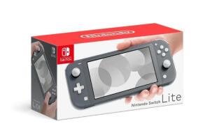 [Varias cores] Nintendo Switch Lite Preto | R$1439