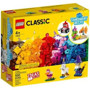 LEGO Classic Blocos Transparentes Criativos 11013 - 500 Peças | R$204