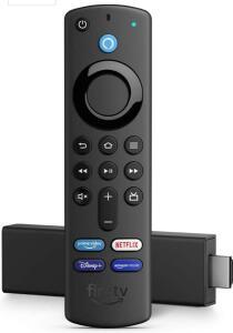 Fire TV Stick 4K com Controle Remoto por Voz com Alexa | Dolby Vision | R$427