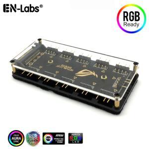 Hub FAN RGB 10 entradas 12v 5v R$0,06