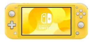 Console Nintendo Switch - Modelo Lite Amarelo 32Gb | R$1.440