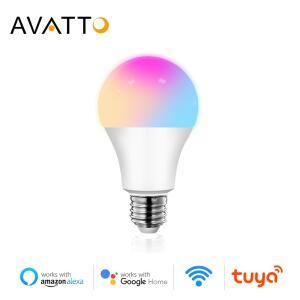 [NOVOS USUÁRIOS] 3 unid. Smart Lâmpada LED RGB 12W AVATTO - Alexa e Google | R$60