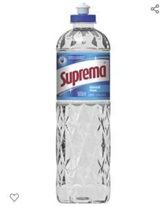 [10 unid.] Lava Louças 500 Ml Natural Clear, Suprema | R$14