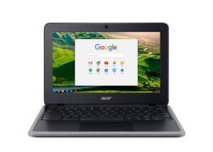 "Chromebook Acer TOUCHSCREEN 11.6"" Intel N4020 4GB Ram 32GB eMMC Chrome OS Preto   R$1799"