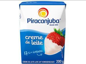 [App+Ouro selec.] Creme de leite piracanjuba L6P4 | R$1,89