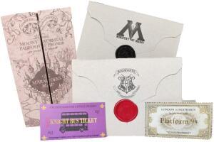 Kit Harry Potter (Mapa do Maroto & Cartas) | R$50