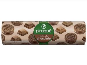 [app-Cliente Ouro] Leve 6 pague 4- Biscoito Piraquê recheado chocolate | R$1,39