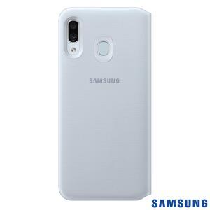 Capa Protetora Flip Wallet para Galaxy A30 | R$5