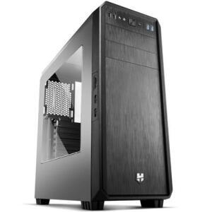 Gabinete NOX HUMMER Janela lateral em Acrílico USB 3.0 NXHUMMERZS | R$250
