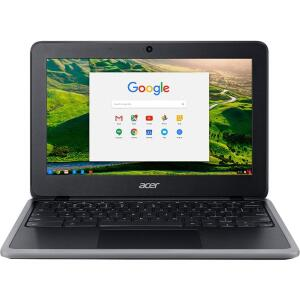 "Chromebook Acer C733-C607 Intel Celeron-N4020 4GB 32GB eMMC 11.6"" Chrome Os | R$1499"