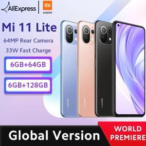 Smartphone Mi 11 Lite 6Gb Ram + 64Gb | R$1510