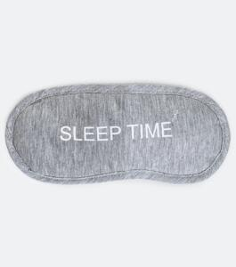 Máscara de dormir estampa Sleep Time | R$6