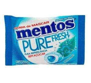 [PRIME] Chiclete Mentos Pure Fresh Menta | R$0,91