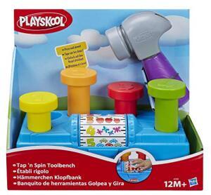 Brinquedo Conjunto Playskool Martelar e Aprender - A7405 - Hasbro | R$78