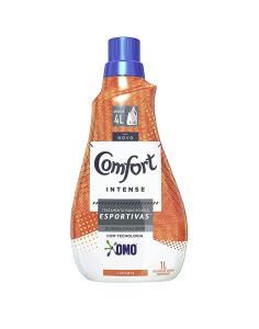 (10 unidades) Amaciante Concentrado Comfort Intense+Sports 1L | R$55