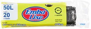 [Prime] Saco de lixo - 20 unidades / 50 litros R$7