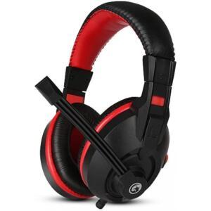 Headset Gamer Marvo H8321P, Com Fio, Black/Red, H8321P | R$59