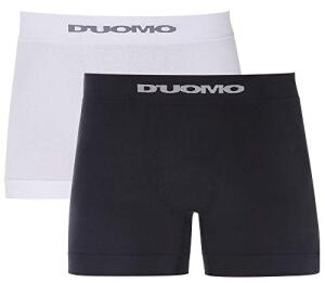 [PRIME] Kit 2 Cuecas Boxer Básico, Duomo, Masculino | R$25