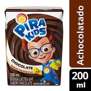 Achocolatado Pirakids 200ml | R$1 Un. ou R$9 para 10 Unidades