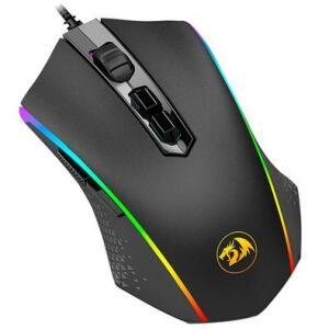 Mouse Gamer Redragon Memeanlion M710 RGB, 10000 DPI, 10 Botões
