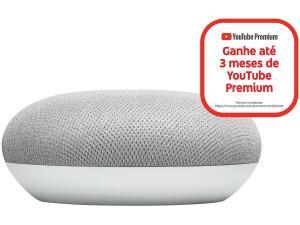 Nest Mini 2ª geração Smart Speaker - com Google Assistente Cor Giz | R$180
