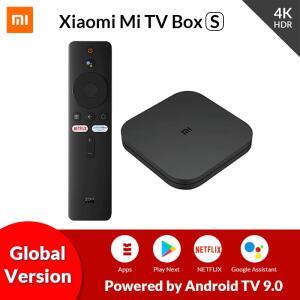 Xiaomi Mi Tv Box S 4K AndroidTV 9.0 2GB RAM 8GB ROM   R$410