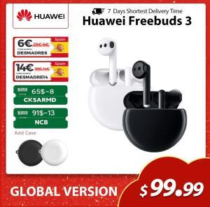 Fone de ouvido Huawei Freebuds 3 Global Version | R$469